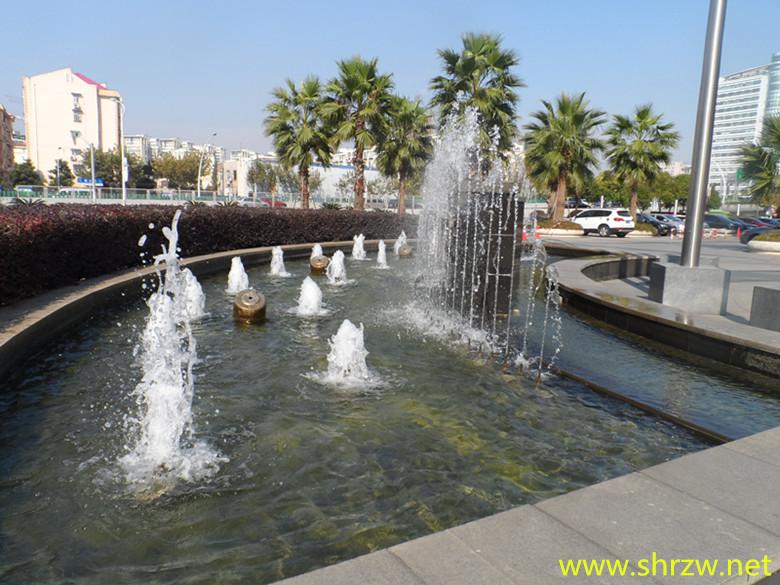 水景喷泉图片
